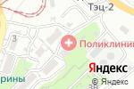 Схема проезда до компании Поликлиника №6 во Владивостоке
