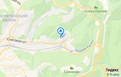 Местоположение на карте пункта техосмотра по адресу г Владивосток, ул Снеговая, д 123, кв 125
