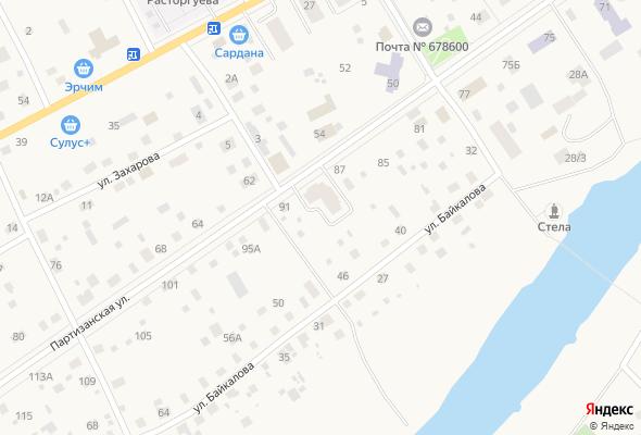 жилой комплекс по ул. Партизанская д. 89 (Амга)