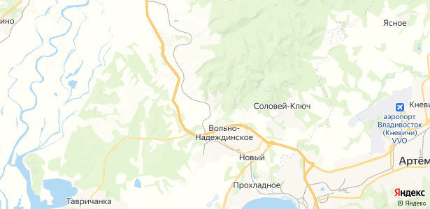 Ключевой на карте