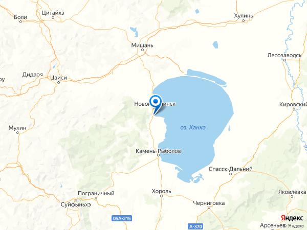 село Платоно-Александровское на карте