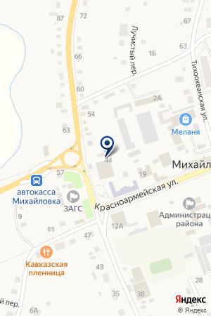 Автомагазин на карте Михайловки