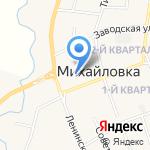 Пивная бочка на карте Михайловки