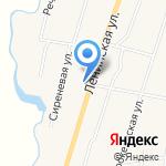 Перевозчик на карте Михайловки