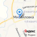 Bonjour на карте Михайловки