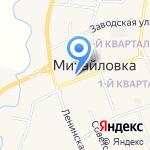 Экспресс Финанс на карте Михайловки