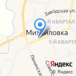 Кокетка на карте Михайловки