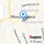 Администрация Михайловского муниципального района на карте Михайловки