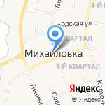 GSM+сервис на карте Михайловки