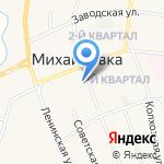 Домотехника на карте Михайловки