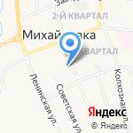 Межпоселенческая библиотека на карте Михайловки