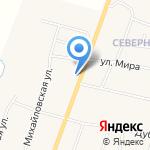 Благодать на карте Михайловки