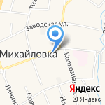 Миллениум на карте Михайловки