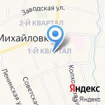 Буратино на карте Михайловки