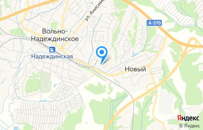 Местоположение на карте пункта техосмотра по адресу Приморский край, с Вольно-Надеждинское, ул Строителей, д 10