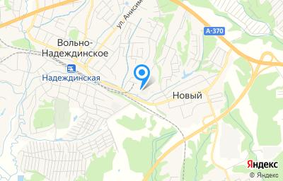 Местоположение на карте пункта техосмотра по адресу Приморский край, с Вольно-Надеждинское, ул Строителей, зд 10