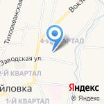 Алёнка на карте Михайловки