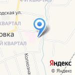 СТО на карте Михайловки