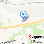 Участковый пункт полиции №26 Советского района на карте Владивостока