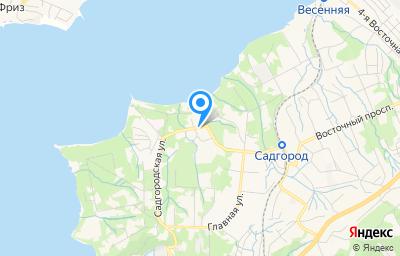 Местоположение на карте пункта техосмотра по адресу г Владивосток, ул Грязелечебница, д 21Б