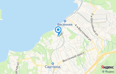 Местоположение на карте пункта техосмотра по адресу г Владивосток, ул Весенняя, д 9 стр 2
