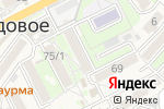 Схема проезда до компании Платежный терминал, АКБ Приморье, ПАО в Трудовом