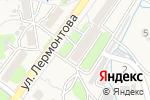 Схема проезда до компании Продуктовый магазин в Трудовом