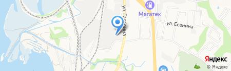 ПКС-ДВ на карте Артёма
