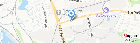 EFI-центр на карте Артёма