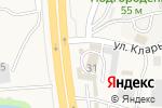 Схема проезда до компании МегаПак Артем в Трудовом