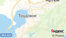 Отели города Трудовое на карте