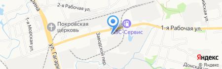 Брусчатка-Прим на карте Артёма