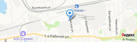 Городская поликлиника №3 на карте Артёма