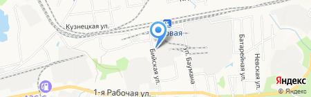 Русские бани на карте Артёма