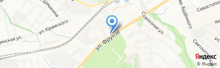 АЗС НК Альянс на карте Артёма