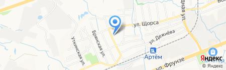 Магазин кондитерских изделий на карте Артёма