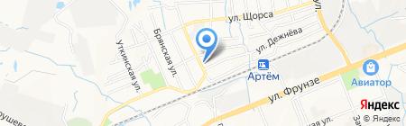 Центр гигиены и эпидемиологии в Приморском крае на карте Артёма