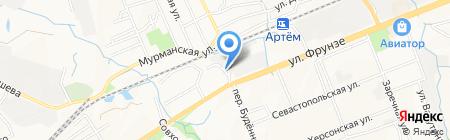 Торгово-сервисная компания на карте Артёма