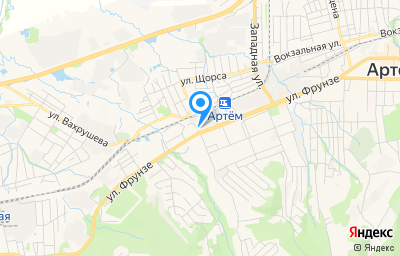 Местоположение на карте пункта техосмотра по адресу Приморский край, г Артем, ул Фрунзе, д 15/1