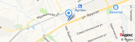 Артемовская электросетевая компания на карте Артёма