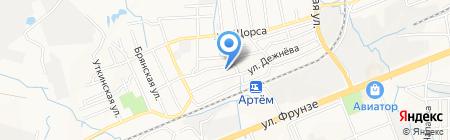 МСЦ ЕХБ на карте Артёма