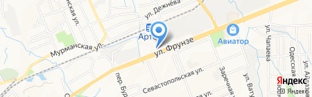 Деми на карте Артёма