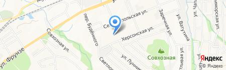 Иртыш на карте Артёма