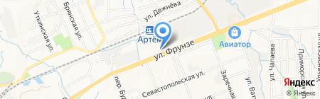 ДВФУ на карте Артёма