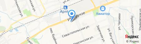 Ремзона на карте Артёма