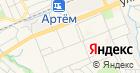 Детский сад №34 Артемовского городского округа, МБДОУ на карте