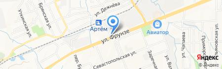 Аран на карте Артёма