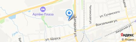 Сварка на ЖБИ на карте Артёма