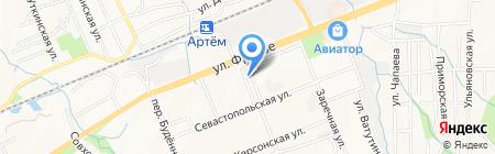 Детская школа искусств №2 на карте Артёма