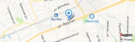 Эдельвейс на карте Артёма
